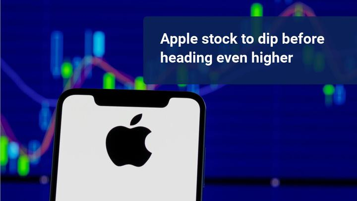 Apple's stock trading 50% above its SMA(500) – buy the dip?