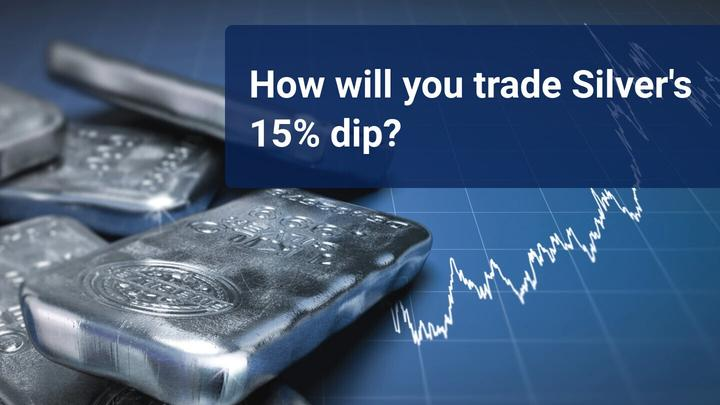 Silver dropped by more than 15% on the 11th of August – buy the dip?