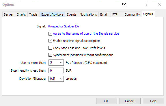 Windows MT 5 Option: Forex Signal Service