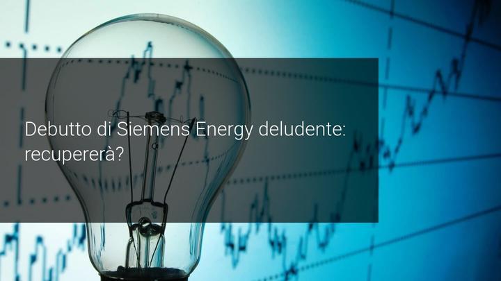 siemens energy al di sotto delle previsioni