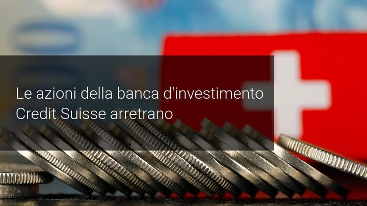 azioni credit suisse al ribasso