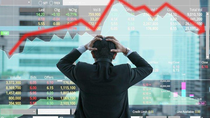 Interest rate and stock market image