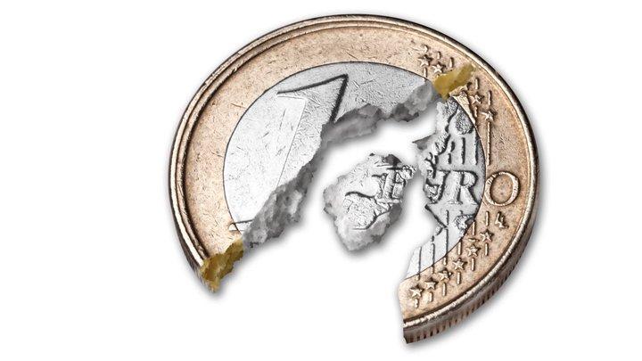 Euro slumps