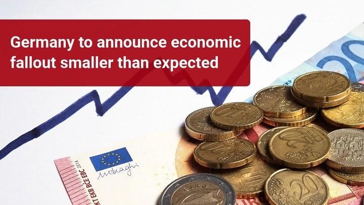 Vokietijos ekonomika susitraukė mažiau nei bijota?