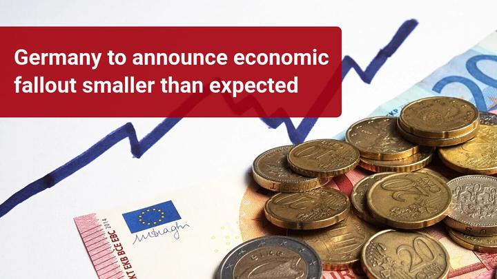Germany's economic contraction less than feared?