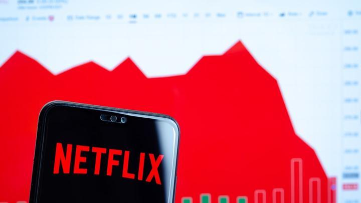 Netflix stock tumbles