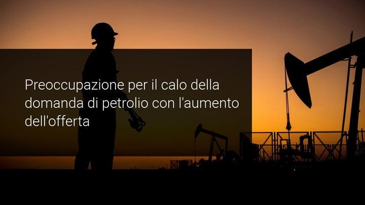 andamento petrolio