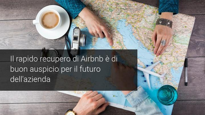 primo giorno airbnb in borsa
