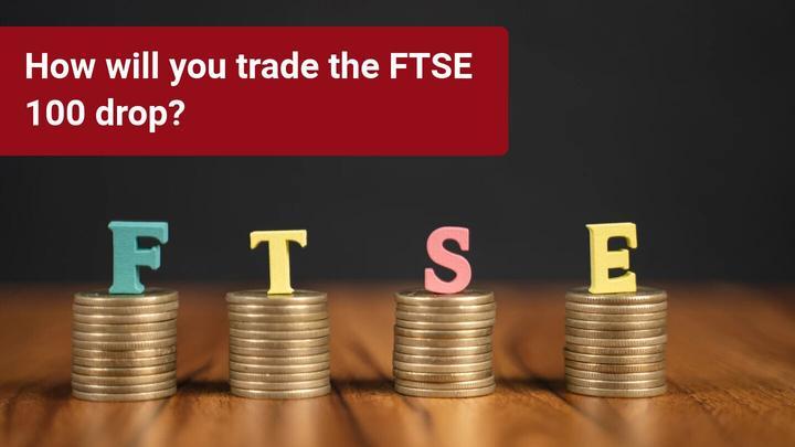 Trgovanje s padcem FTSE