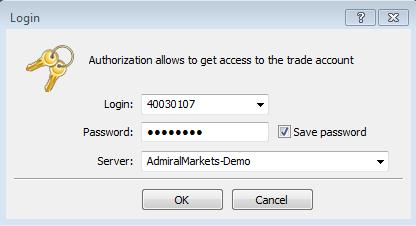 Cách đăng nhập MetaTrader