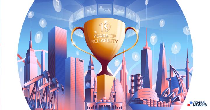 Admiral Markets premiato come Miglior Forex Broker 2020