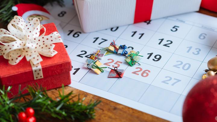 Торговое расписание в период празднования Рождества и Нового года в 2019-2020 году