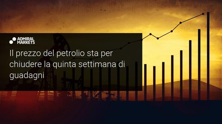 petrolio recupera stabilmente