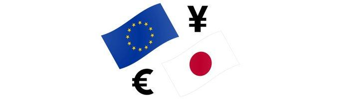 Euras jena - kaip prekiauti EUR JPY valiutų pora