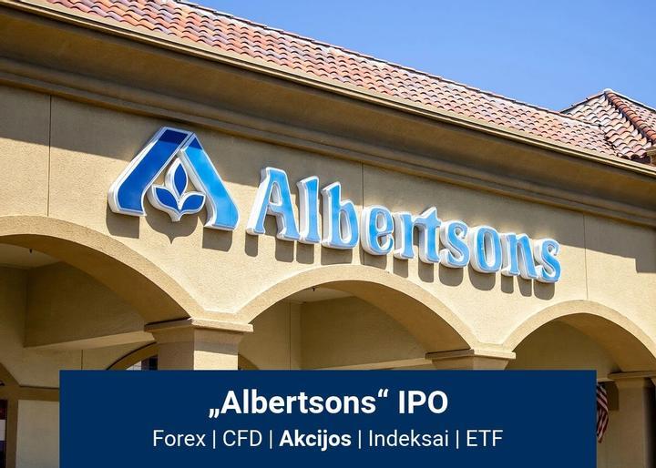 """Viskas, ką turite žinoti apie """"Albertsons"""" IPO"""