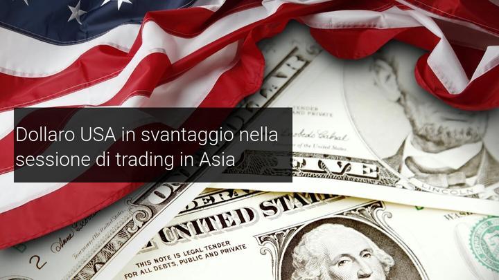 dollaro crolla in asia