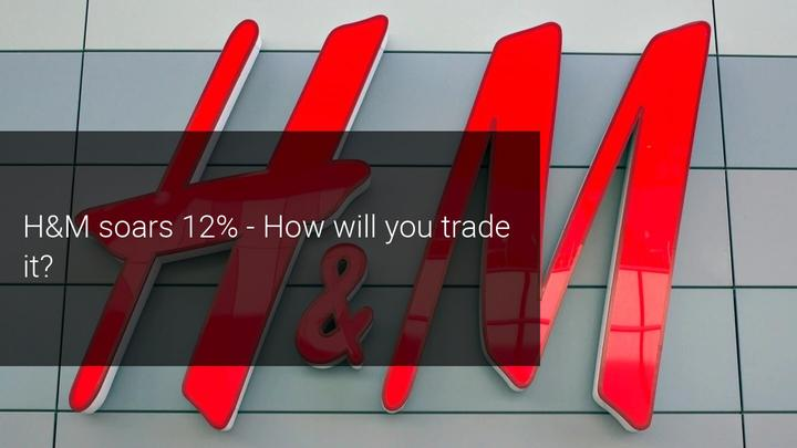 H&M shares rise 12% after beating earnings forecasts