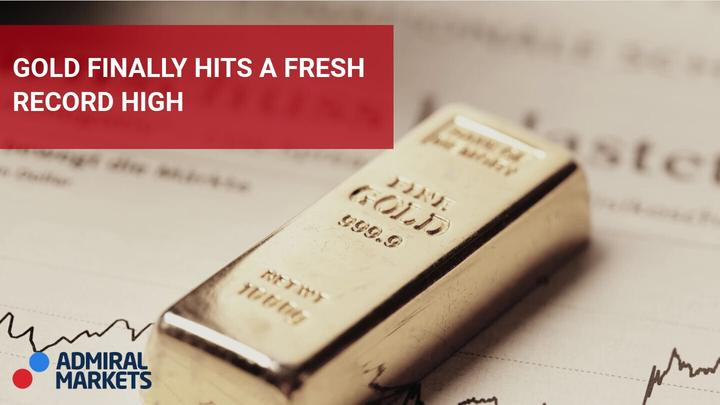 Gold finally hits a fresh record high