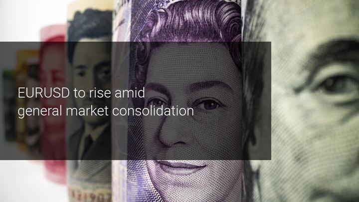 U.S. dollar marked slight correction