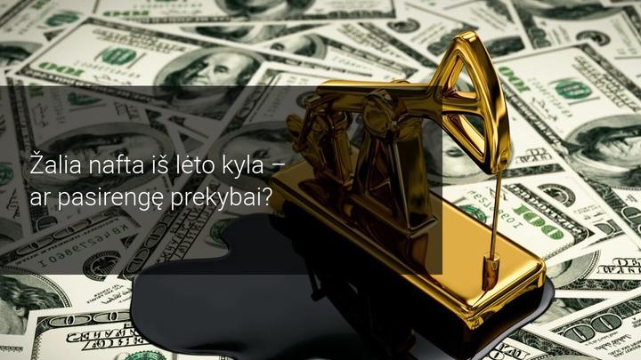 Naftos kainos atsigauna, belaukiant naujų ekonominių skatinimo priemonių