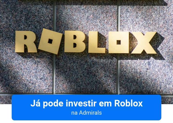 Investir em Roblox na Admirals