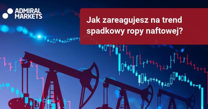 trend spadkowy ropy