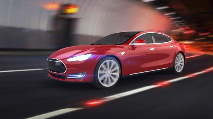 Tesla electric vehicle