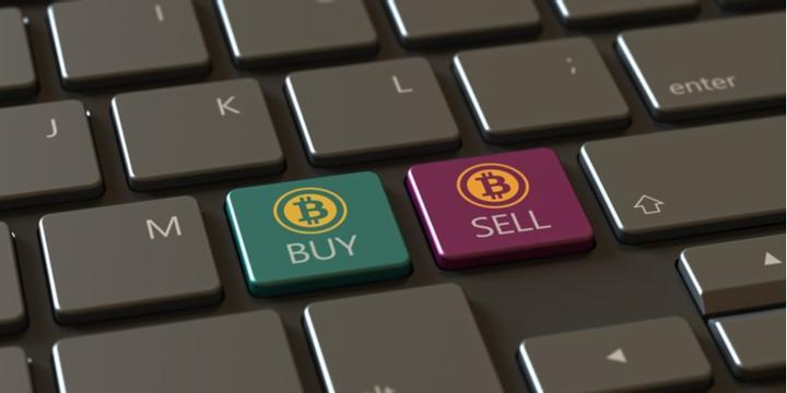vente bitcoin logo