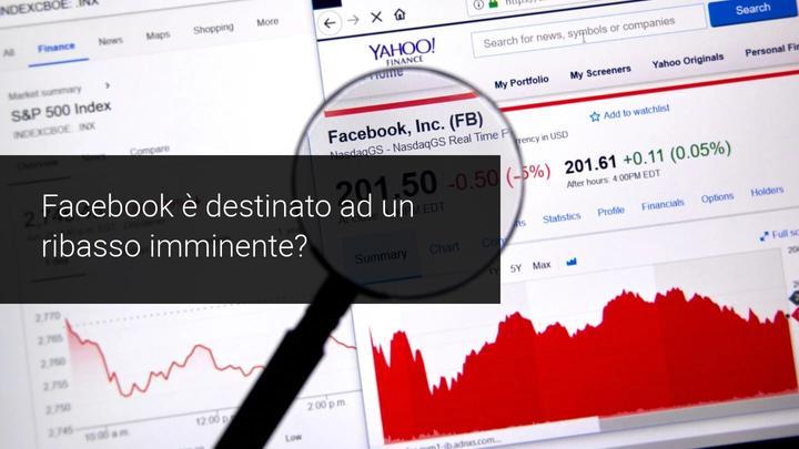 Facebook, ribasso imminente?
