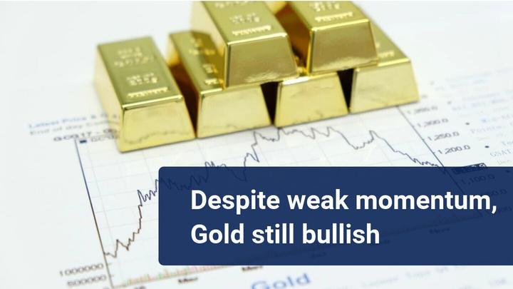 zlato nastavlja bull trend